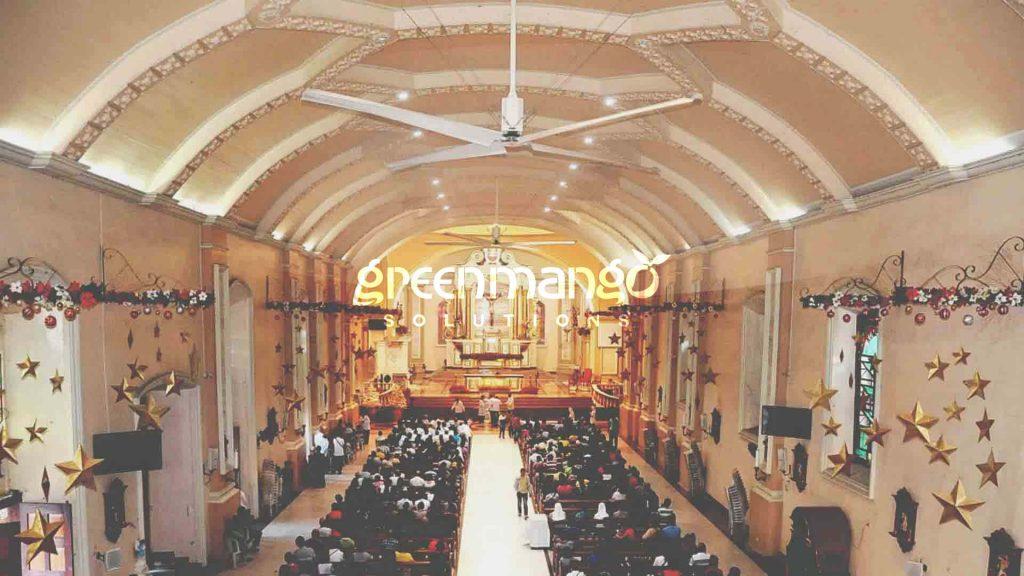 HVLS Fans San Pablo City Cathedral